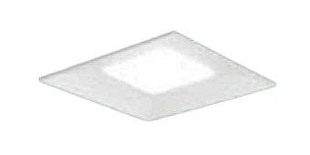 XLX181VKWRZ9 パナソニック Panasonic 施設照明 一体型LEDベースライト 白色 埋込型 スクエア光源タイプ □600 連続調光型 下面開放型 コンパクト形蛍光灯FHP32形4灯器具相当 8000lm