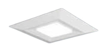 XLX191DEVJRZ9 ●パナソニック Panasonic 施設照明 一体型LEDベースライト 直付/埋込兼用 スクエア光源タイプ □720 コンパクト形蛍光灯FHP45形3灯器具相当 温白色 調光タイプ 下面開放型 9000lm