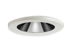 65-20947-00-90 マックスレイ 照明器具 基礎照明 INFIT φ50 WATER PROOF LEDベースダウンライト ミラーピンホール 防湿形 広角 JDR40Wクラス 電球色(2700K) 連続調光 65-20947-00-90