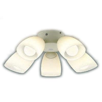 AA43192Lインテリアファン S-シリーズ モダンタイプ専用 灯具のみ 5灯 8畳用ランプ交換可能型 LED39W 要電気工事 非調光 電球色コイズミ照明 照明器具 インテリア照明 【~8畳】