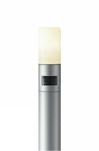 DWP-38634Y 大光電機 照明器具 LEDアウトドアローポールライト H1110mm 人感センサー付 ON/OFFタイプII 電球色 白熱灯60W相当 DWP-38634Y