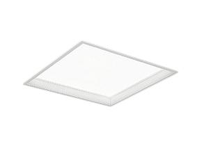 EFK9921W 遠藤照明 施設照明 LEDスクエアベースライト FLAT BASEシリーズ 埋込 深型乳白パネル 600シリーズ FHP45W×2器具相当 5500lmタイプ 無線調光 昼白色 EFK9921W