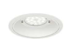 ERD7223W 遠藤照明 施設照明 LED軒下用ベースダウンライト Rsシリーズ 埋込穴φ200 4000/3000タイプ 51°超広角配光 電球色 ERD7223W