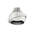 ERS6028W 遠藤照明 施設照明 LEDムービングジャイロシステム ARCHIシリーズ セラメタプレミアS35W器具相当 2000タイプ 22°中角配光 アパレルホワイトe 電球色 ERS6028W
