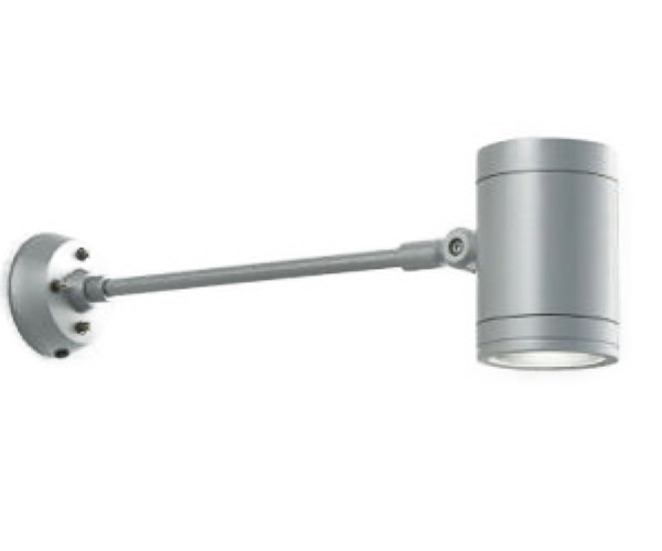 MS10437-40-90 マックスレイ 照明器具 屋外照明 LEDロングアームスポットライト φ110 低出力タイプ 広角 電球色(2700K) 非調光 HID35Wクラス MS10437-40-90