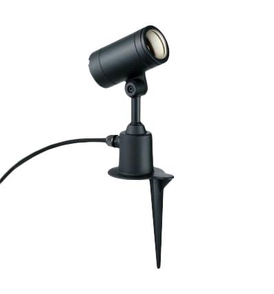 MS10458-02-90 マックスレイ 照明器具 屋外照明 LEDスパイクスポットライト φ75 狭角 電球色(2700K) 非調光 JR12V50Wクラス MS10458-02-90