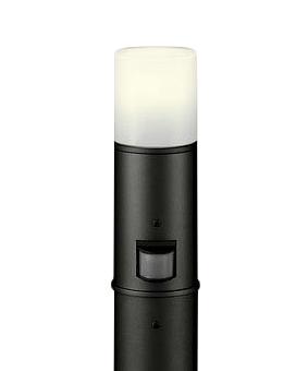 OG254196LCエクステリア LEDガーデンライト電球色 防雨型 人感センサ付 白熱灯60W相当 地上高600オーデリック 照明器具 玄関 庭園灯 屋外用