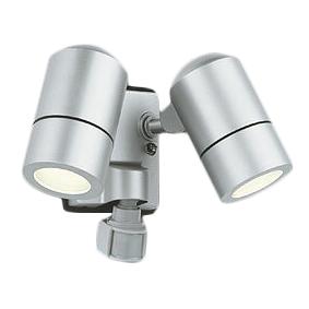 ★OG254559LDエクステリア LEDスポットライト電球色 防雨型 人感センサ付 白熱灯50W×2灯相当オーデリック 照明器具 アウトドアライト