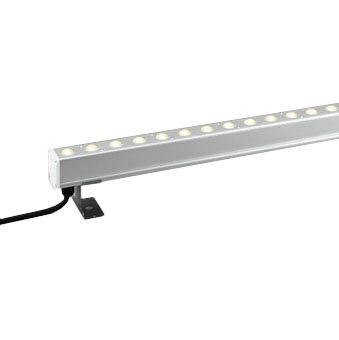 OG254784エクステリア LED間接照明配光制御タイプ(ハイパワーウォールウォッシャー)防雨・防湿型 連結用 非調光 電球色 L600タイプオーデリック 照明器具 屋外 景観照明 床面取付専用