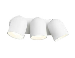 OS256398LEDブラケットライト 3灯YUKIGO 非調光 電球色 白熱灯60W×3灯相当オーデリック 照明器具 寝室向け 壁面・天井面・傾斜面取付兼用