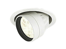 XD258474LEDハイユニバーサルダウンライトOPTGEAR(オプトギア) 埋込φ100 連続調光(PWM)温白色 20° S750 JR12V-50Wクラスオーデリック 照明器具 飲食店用 天井照明