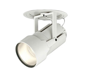 XD404031 オーデリック 照明器具 PLUGGEDシリーズ LEDハイパワーフィクスドダウンスポットライト 本体 電球色 60°広拡散 COBタイプ C7000 セラミックメタルハライド150Wクラス XD404031