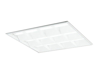 XD466006P4DLED-スクエア LEDユニット型ベースライトスタンダードタイプ 600シリーズ埋込型 ルーバー付 埋込穴600PWM調光 温白色 FHP45W×3灯相当オーデリック 施設照明 オフィス照明 物販店照明 天井照明