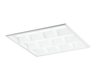XD466007B3BLED-スクエア LEDユニット型ベースライトスタンダードタイプ 450シリーズ埋込型 ルーバー付 埋込穴450Bluetooth調光 昼白色 FHP32W×4灯相当オーデリック 施設照明 オフィス照明 物販店照明 天井照明