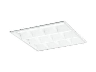XD466015P3CLED-スクエア LEDユニット型ベースライトスタンダードタイプ 450シリーズ埋込型 ルーバー付 埋込穴450非調光 白色 FHP32W×4灯相当オーデリック 施設照明 オフィス照明 物販店照明 天井照明