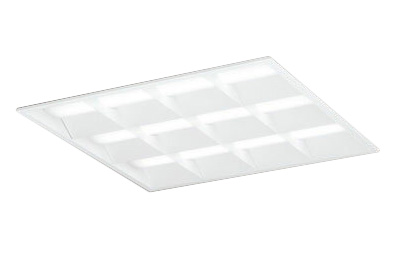 ●XD466030P1B オーデリック 照明器具 LED-SQUARE LEDベースライト LEDユニット型 FHP45W×3灯クラス(省電力タイプ) □600 埋込型 ルーバー付 PWM調光 昼白色 XD466030P1B