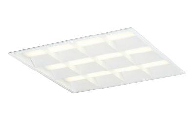600シリーズ埋込型 埋込穴600PWM調光 物販店照明 天井照明 オフィス照明 ルーバー付 FHP45W×4灯相当オーデリック 電球色 ●XD466030P2ELED-スクエア 施設照明 LEDユニット型ベースライト省電力タイプ