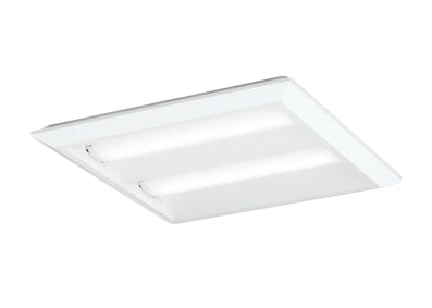XL501016P2DLED-スクエア LEDユニット型ベースライト省電力タイプ 450シリーズ直付/埋込兼用型 ルーバー無 埋込穴500非調光 温白色 FHP32W×4灯相当オーデリック 施設照明 オフィス照明 物販店照明 天井照明