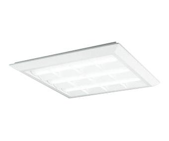 XL501028P4DLED-スクエア LEDユニット型ベースライトスタンダードタイプ 600シリーズ直付/埋込兼用型 ルーバー付 埋込穴680PWM調光 温白色 FHP45W×3灯相当オーデリック 施設照明 オフィス照明 物販店照明 天井照明