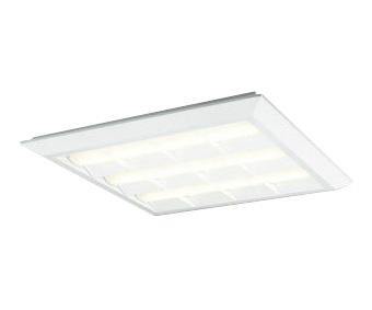 XL501028P4ELED-スクエア LEDユニット型ベースライトスタンダードタイプ 600シリーズ直付/埋込兼用型 ルーバー付 埋込穴680PWM調光 電球色 FHP45W×3灯相当オーデリック 施設照明 オフィス照明 物販店照明 天井照明