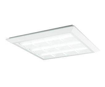 XL501035P4CLED-スクエア LEDユニット型ベースライトスタンダードタイプ 600シリーズ直付/埋込兼用型 ルーバー付 埋込穴680非調光 白色 FHP45W×4灯相当オーデリック 施設照明 オフィス照明 物販店照明 天井照明