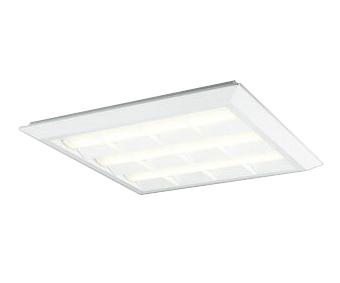 XL501035P4ELED-スクエア LEDユニット型ベースライトスタンダードタイプ 600シリーズ直付/埋込兼用型 ルーバー付 埋込穴680非調光 電球色 FHP45W×4灯相当オーデリック 施設照明 オフィス照明 物販店照明 天井照明