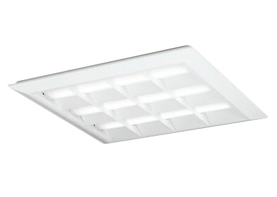 ●XL501053P1BLED-スクエア LEDユニット型ベースライト省電力タイプ 600シリーズ直付/埋込兼用型 ルーバー付 埋込穴680PWM調光 昼白色 FHP45W×3灯相当オーデリック 施設照明 オフィス照明 物販店照明 天井照明