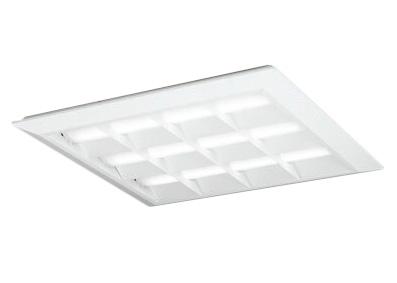 物販店照明 施設照明 埋込穴680PWM調光 600シリーズ直付/埋込兼用型 白色 オフィス照明 FHP45W×4灯相当オーデリック LEDユニット型ベースライト省電力タイプ ルーバー付 ●XL501053P2CLED-スクエア 天井照明