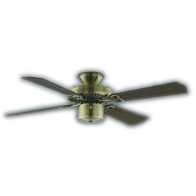 AM40383ECombination Fan S-シリーズ クラシカルタイプインテリアファン本体(モーター+羽根)組み合わせタイプ(リモコン付) 電気工事不要コイズミ照明 照明器具 インテリアファン