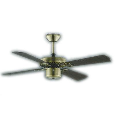 AM40384ECombination Fan S-シリーズ クラシカルタイプインテリアファン本体(モーター+羽根)組み合わせタイプ(リモコン付) 要電気工事傾斜天井対応コイズミ照明 照明器具 インテリアファン