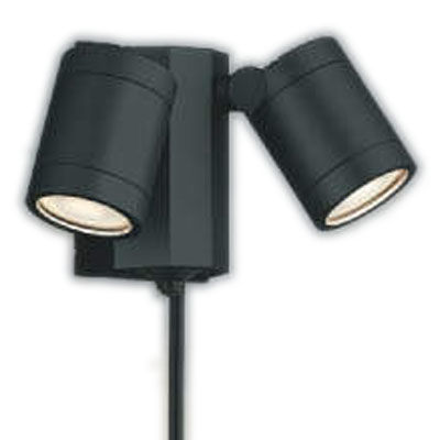 人気の照明器具が激安大特価 取付工事もご相談ください AU43205Lエクステリア 正規激安 LED一体型 スポットライト人感センサー付タイマー付ON-OFFタイプ 広角非調光 照明器具 ガレージ用照明 白熱球60W×2灯相当コイズミ照明 お買い得品 電球色 防雨型 バルコニー
