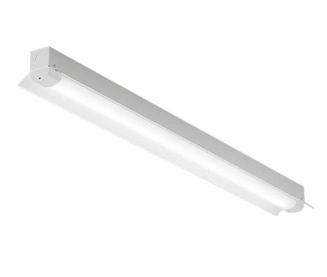 DOL-5385WW 大光電機 照明器具 軒下用直管LEDベースライト 直付 昼白色 非調光 反射笠付 天井付・壁付(横向き)兼用 FL40W×1灯節電タイプ DOL-5385WW