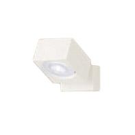 XAS1020NCB1LEDスポットライト LEDフラットランプ対応 天井・壁面(上・下向き)・据置取付兼用 直付 昼白色アルミダイカストセード 集光タイプ 調光可能110Vダイクール電球60形1灯器具相当Panasonic 照明器具