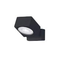 XAS1021NCB1LEDスポットライト LEDフラットランプ対応 天井・壁面(上・下向き)・据置取付兼用 昼白色アルミダイカストセード 集光タイプ 調光可能110Vダイクール電球60形1灯器具相当Panasonic 照明器具