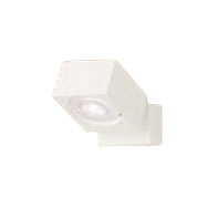 XAS1030VCB1LEDスポットライト LEDフラットランプ対応 天井・壁面(上・下向き)・据置取付兼用 直付 温白色 美ルックアルミダイカストセード 集光タイプ 調光可能110Vダイクール電球60形1灯器具相当Panasonic 照明器具