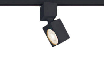 XAS1521LCB1LEDスポットライト LEDフラットランプ対応 天井付・壁付 配線ダクト取付型 電球色アルミダイカストセード 集光タイプ 調光可能110Vダイクール電球60形1灯器具相当Panasonic 照明器具
