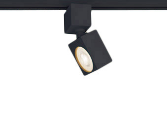 XAS1531LCE1LEDスポットライト LEDフラットランプ対応 天井付・壁付 配線ダクト取付型 電球色アルミダイカストセード 美ルック 集光タイプ 調光不可110Vダイクール電球60形1灯器具相当Panasonic 照明器具