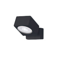 XAS3021NCB1LEDスポットライト LEDフラットランプ対応 天井・壁面(上・下向き)・据置取付兼用 昼白色アルミダイカストセード 集光タイプ 調光可能110Vダイクール電球100形1灯器具相当Panasonic 照明器具