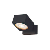 XAS3031LCB1LEDスポットライト LEDフラットランプ対応 天井・壁面(上・下向き)・据置取付兼用 電球色 美ルックアルミダイカストセード 集光タイプ 調光可能110Vダイクール電球100形1灯器具相当Panasonic 照明器具
