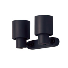 XAS3321VCB1LEDスポットライト LEDフラットランプ対応 壁面・天井面・据付取付兼用 直付 温白色プラスチックセード 集光タイプ 調光可能110Vダイクール電球100形2灯器具相当Panasonic 照明器具