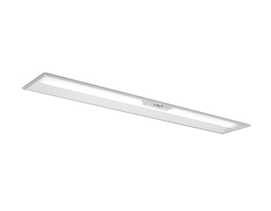 MY-BK450332B/W AHTNLED非常用照明器具 電池内蔵形 Myシリーズ30分間定格形 階段通路誘導灯兼用形40形 埋込形 190幅 非常時LED一般出力タイプ一般タイプ 5200lm FHF32形×2灯器具 定格出力相当 白色三菱電機 施設照明