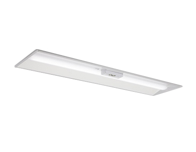MY-BK450335B/WW AHTNLED非常用照明器具 電池内蔵形 Myシリーズ30分間定格形 階段通路誘導灯兼用形40形 埋込形 300幅 非常時LED一般出力タイプ一般タイプ 5200lm FHF32形×2灯器具 定格出力相当 温白色三菱電機 施設照明