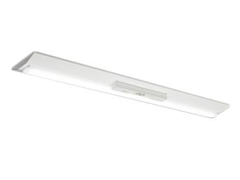 MY-VK420331B/W AHTNLED非常用照明器具 電池内蔵形 Myシリーズ30分間定格形 階段通路誘導灯兼用形40形 直付形 逆富士タイプ 230幅 非常時LED一般出力タイプ一般タイプ 2000lm FLR40形×1灯器具 節電タイプ 白色三菱電機 施設照明