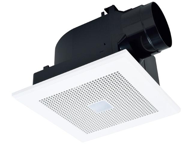 三菱電機 ダクト用換気扇天井埋込形 サニタリー用 低騒音形トイレ・洗面所用 人感センサー付VD-20ZAC10