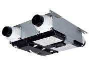●三菱電機 ロスナイ セントラル換気システムHEMS対応 薄型ベーシックシリーズ 温暖地タイプ<ハイパーEcoエレメント>居室系・洗面所用 左タイプVL-20ZMH3-L-HM