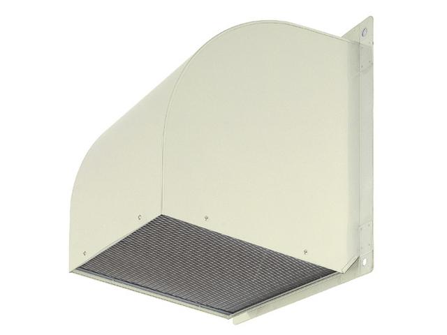 ●三菱電機 有圧換気扇用システム部材有圧換気扇用ウェザーカバー 排気形標準タイプ鋼板製 防虫網標準装備W-80TAM-A