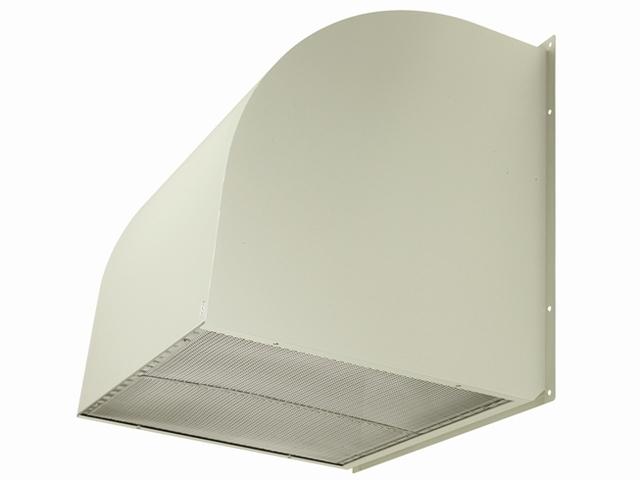●三菱電機 有圧換気扇用システム部材有圧換気扇用ウェザーカバー 排気形標準タイプ鋼板製 防鳥網標準装備W-95TA-A