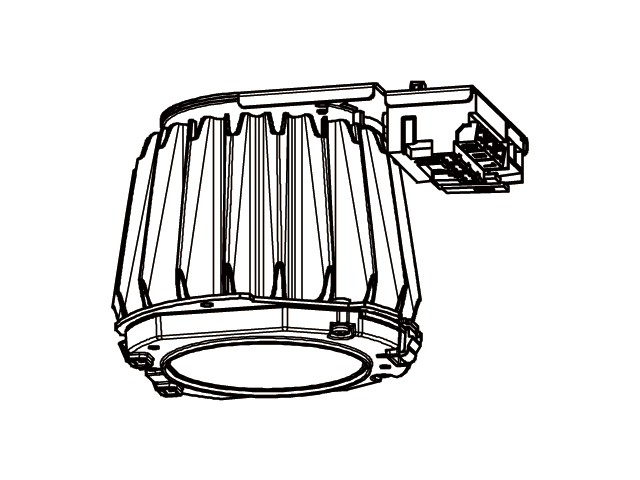 三菱電機 施設照明LEDベースダウンライト MCシリーズ ライトユニット連続調光 高演色タイプ クラス250 白色EL-DU250WH AHZ