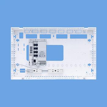 パナソニック Panasonic 電設資材マルチメディア対応配線システム[マルチメディア]ポートALLギガベースユニットWTJ4061