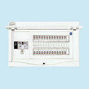 日東工業 エコキュート(電気温水器)+IH用 HCB形ホーム分電盤 一次送りタイプ(ドア付)リミッタスペースなし 露出・半埋込共用型 エコキュート用ブレーカ20A主幹3P60A 分岐22+2HCB3E6-222TB2B